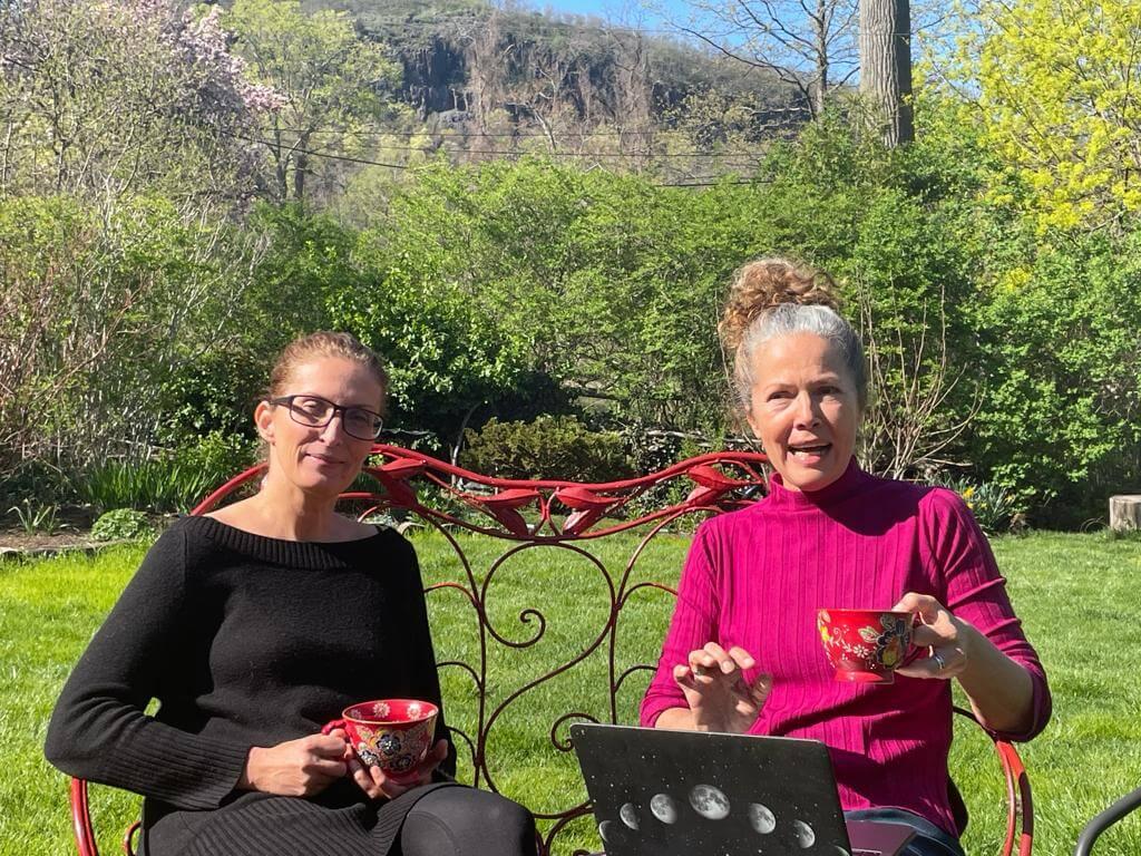 Doro and Petrina talking about menopause